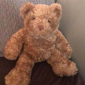 Build a bear curly teddy bear